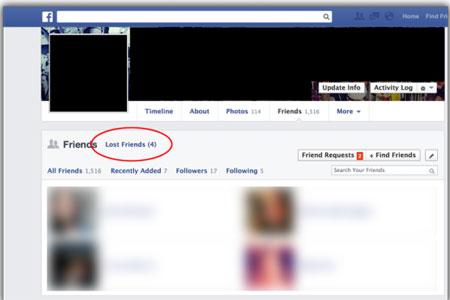 آیا می خواهید بدانید چه کسانی شما را از لیست فیسبوکشان حذف کرده اند ؟!, آموزش اینترنت