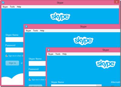 ورود همزمان با دو حساب کاربری در Skype, آموزش اینترنت