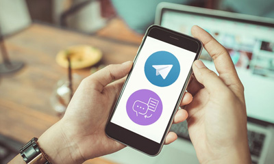 تبدیل متن فارسی به گفتار از طریق تلگرام, آموزش اینترنت