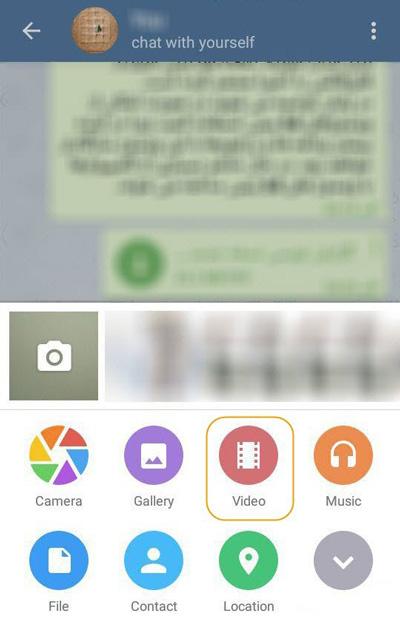 ترفندی برای تبدیل ویدئو به گیف در تلگرام, آموزش اینترنت